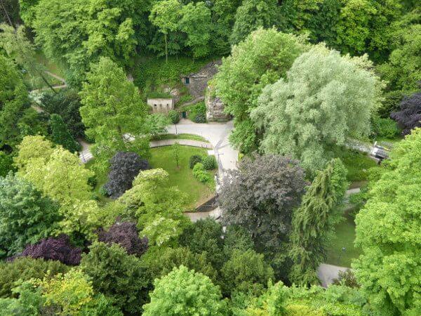 unterstadt Luxemburg grüngürtel