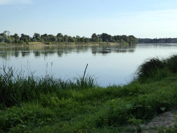 Anjou Maine Zufluss der Loire