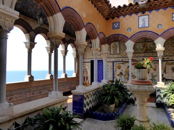 Aussicht Terrasse Palau Maricel