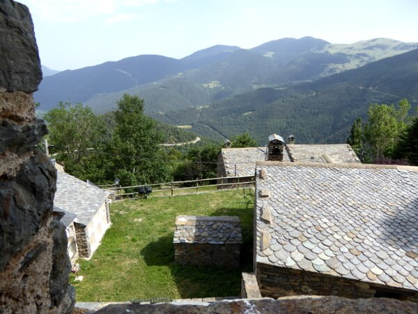 Blick aus dem Wachturm Dorria