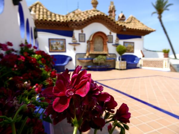 Blumen Terrasse Palau Maricel
