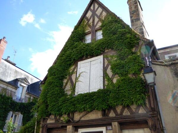 Frankreich Fachwerkhaus