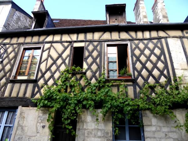 Bourges Frankreich altstadt