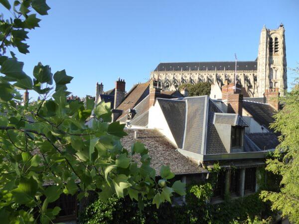 Kathedrale blick vom Fenster