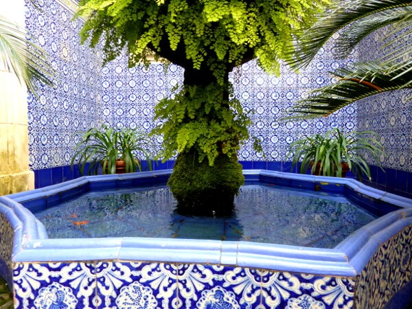 Brunnen Palau Maricel Sitges