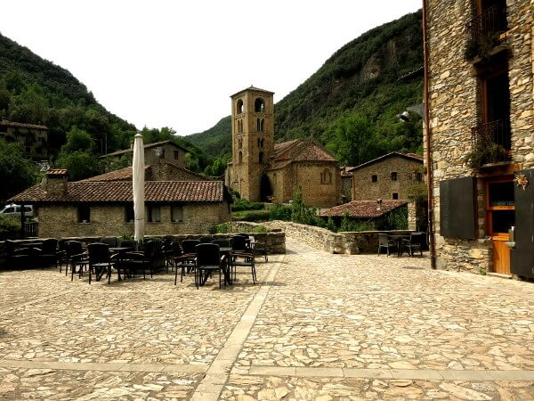 Dorf Beget romanisch