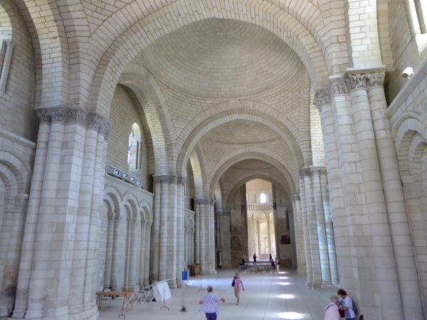 Fontevraud Kloster Kirche