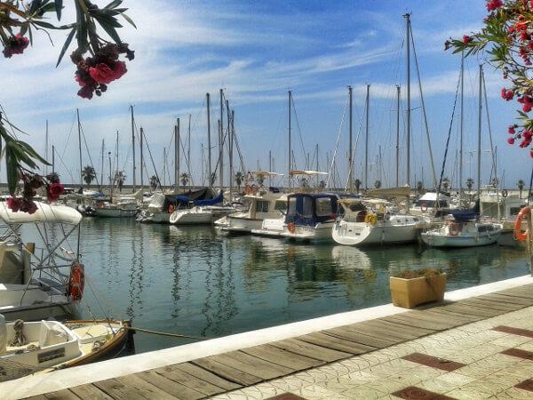 Hafen Sitges bootsverleih