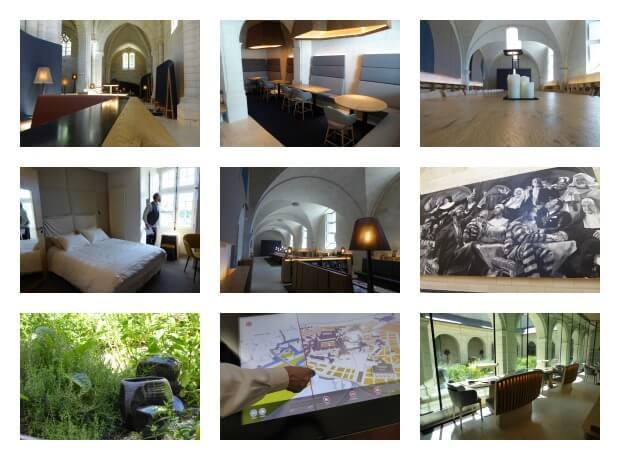 Hotel abbaye Fontevraud