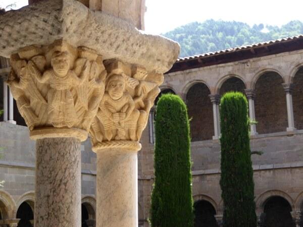 Kapitelle Kreuzgang Kloster Ripoll
