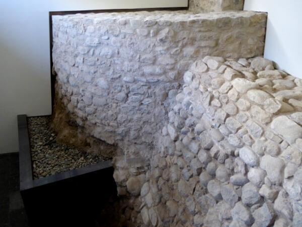 Mauerreste Museum Ripoll