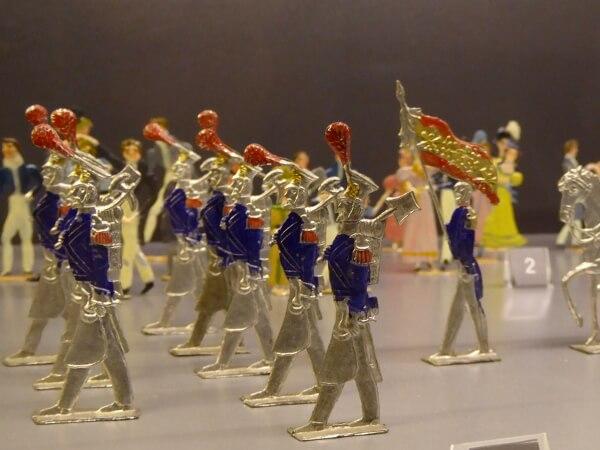 Museum ripoll Spielzeug Zinnsoldaten