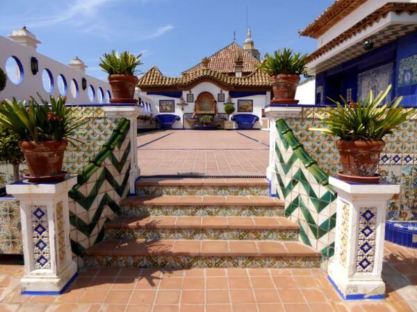 Palau Maricel Sitges Terasse