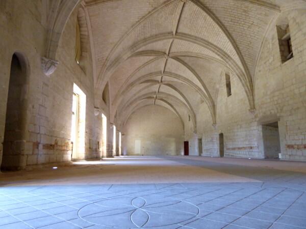 Refektorium Abbaye fontevraud