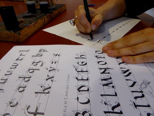 Skriptorium Ripoll Schriften wie die Mönche