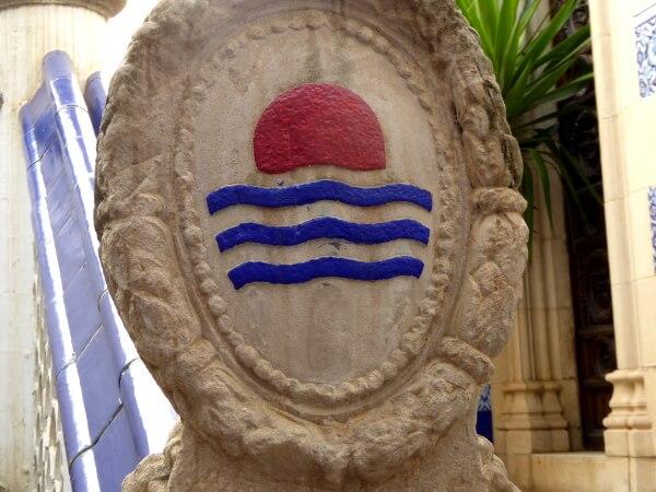 Wappen Deering Palau Maricel
