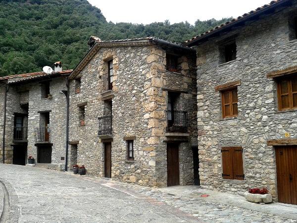 alte Häuser in Beget