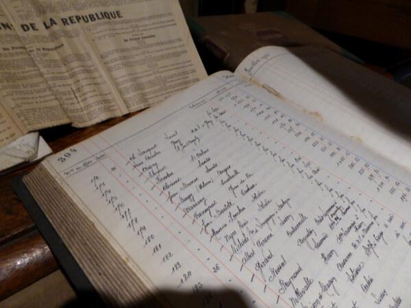 antike Buchhaltung Bouvet Ladubay