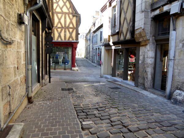 Frankreich altstadt Fachwerk