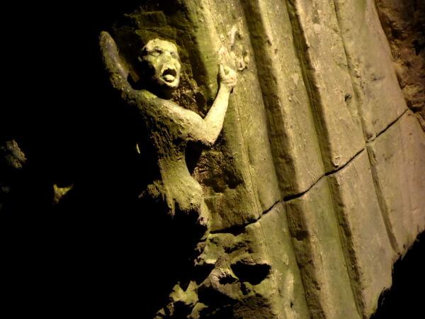 bouvet-ladubay unterirdische radtour figur