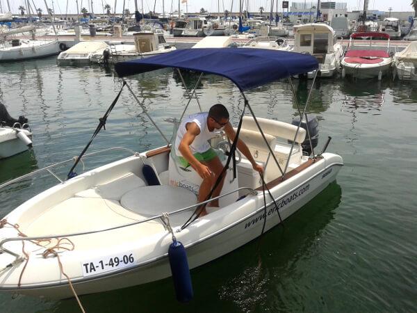 eric boats Sitges gleich geht es los