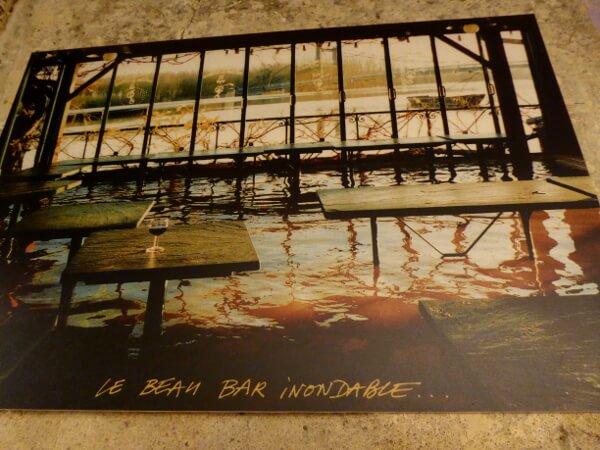 foto bar überflutet