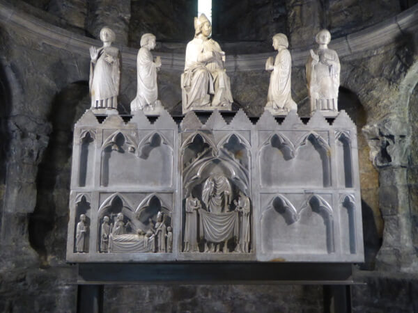 in der Klosterkirche san joan de les abadesses