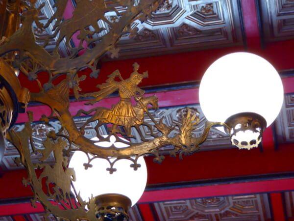 lampe Sant Jordi Palau Maricel