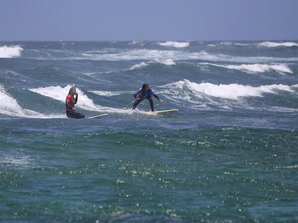 marta surfen auf fuerteventura