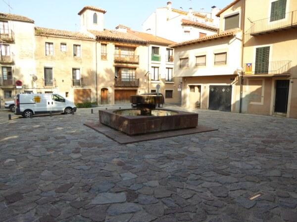 plaça de la abadessa emma Brunnen Mexiko