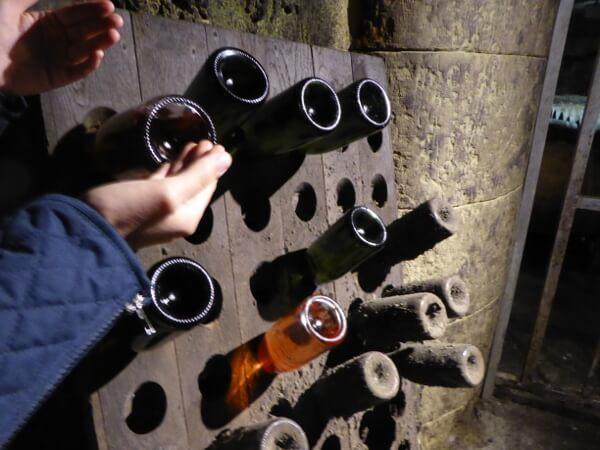 radtour unterirdisch bouvet-Ladubay