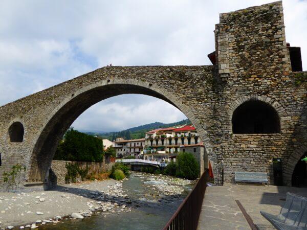 romanische Brücke Camprodon