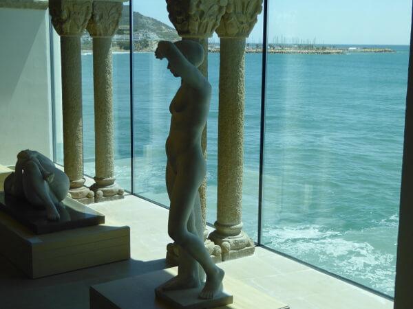 skulpturen Museu Maricel Sitges