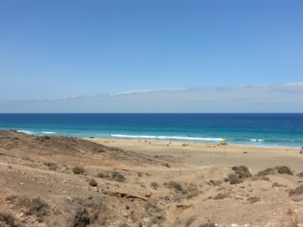 surfen fuerteventura strand