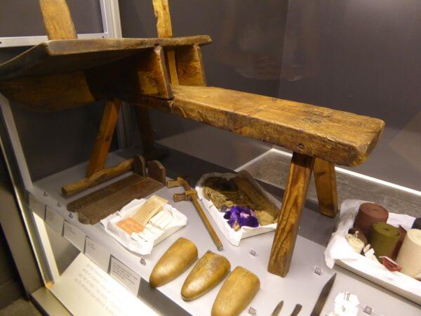 werkbank espandrilles Ripoll Museum