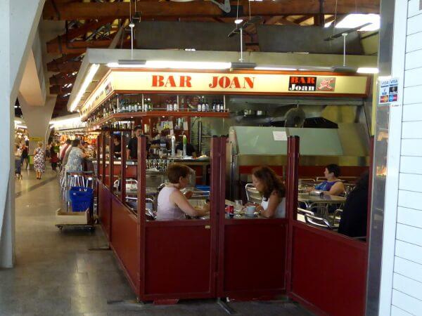 Bar Joan Mercat Santa Caterina Barcelona