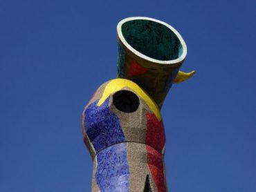 Frau, Vogel, Mond und Sterne - das Miró Museum in Barcelona 3