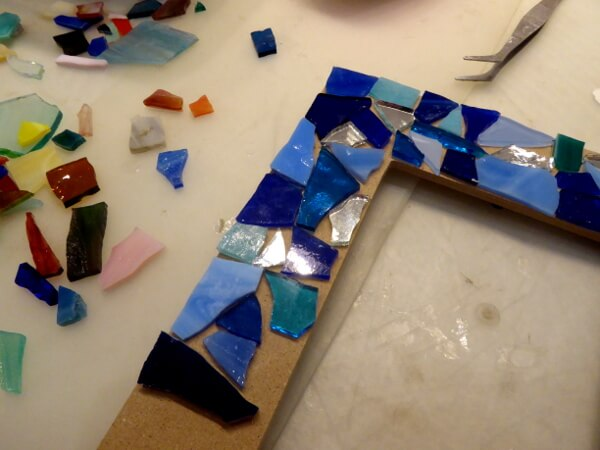 Mosaik Kreativ in Barcelona Rahmen