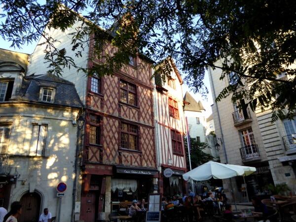 Saumur Fachwerkhaus Altstadt