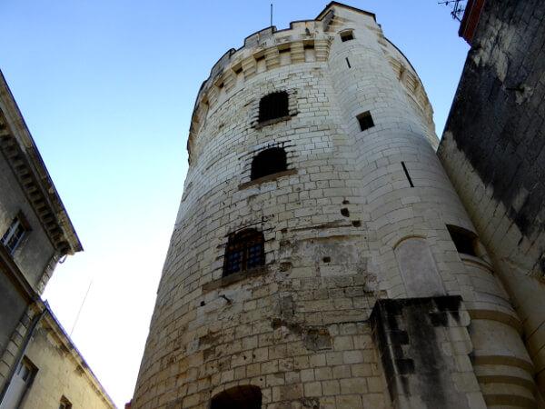 Saumur alter Wachturm Gefängnis