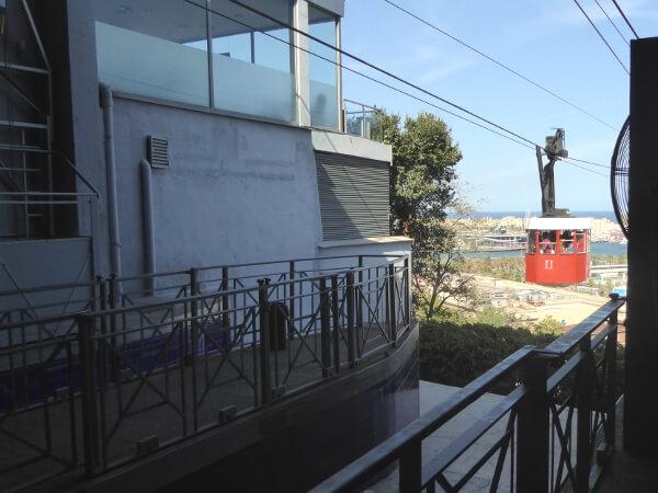 Teleferic Barcelona Seilbahn Hafen