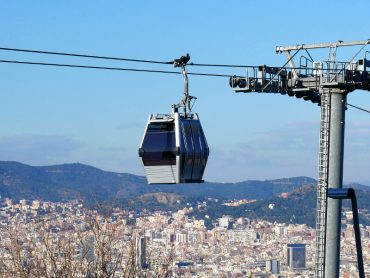 Teleferic Montjuic barcelona