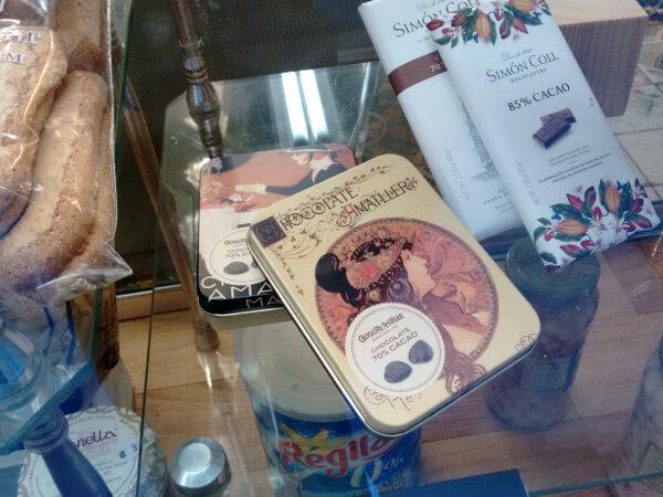 chocolate Amatller Granja Viader Barcelona