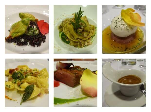 Agriturismo emilia romagna Abendessen San ruffillo