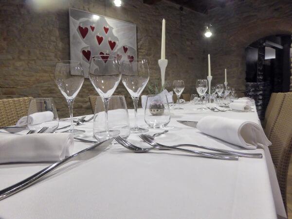 Agriturismo emilia romagna REstaurant Abend San ruffillo