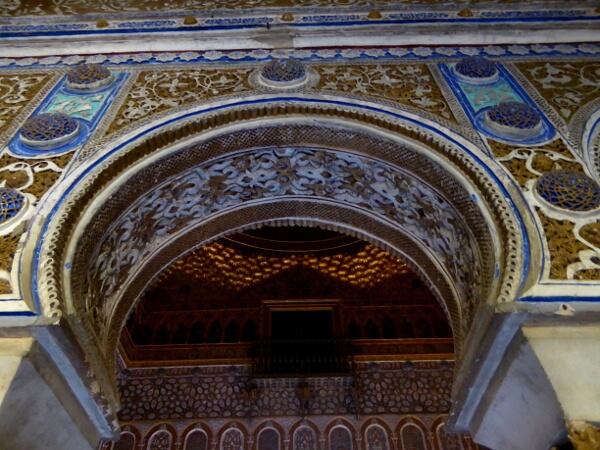Alcazar Sevilla prachtvolle maurische Architektur