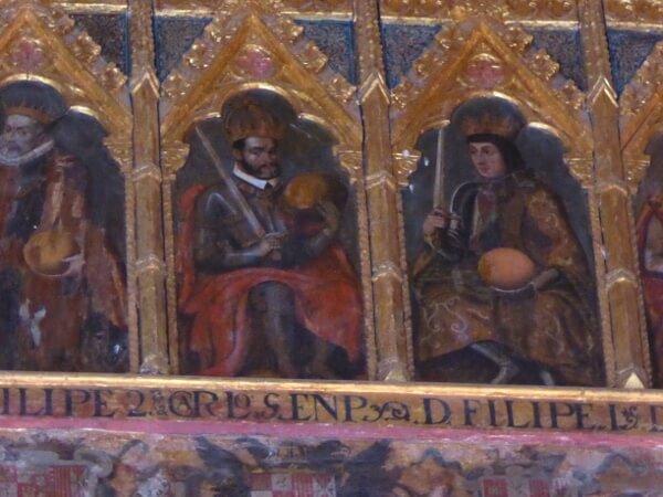 Alcazar Sevilla spanische Könige