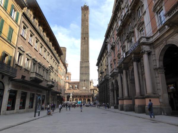 Altstadt in bologna