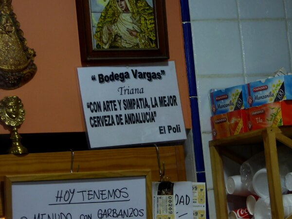 Bar Vargas Tapas Tour Sevilla