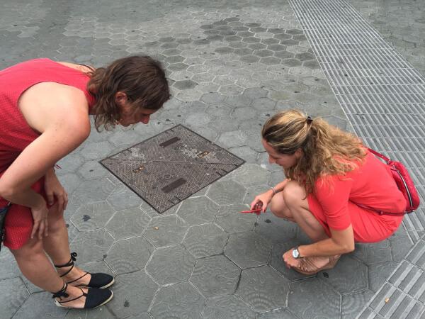 Barcelona 2 für 300 Fliesen Gaudi